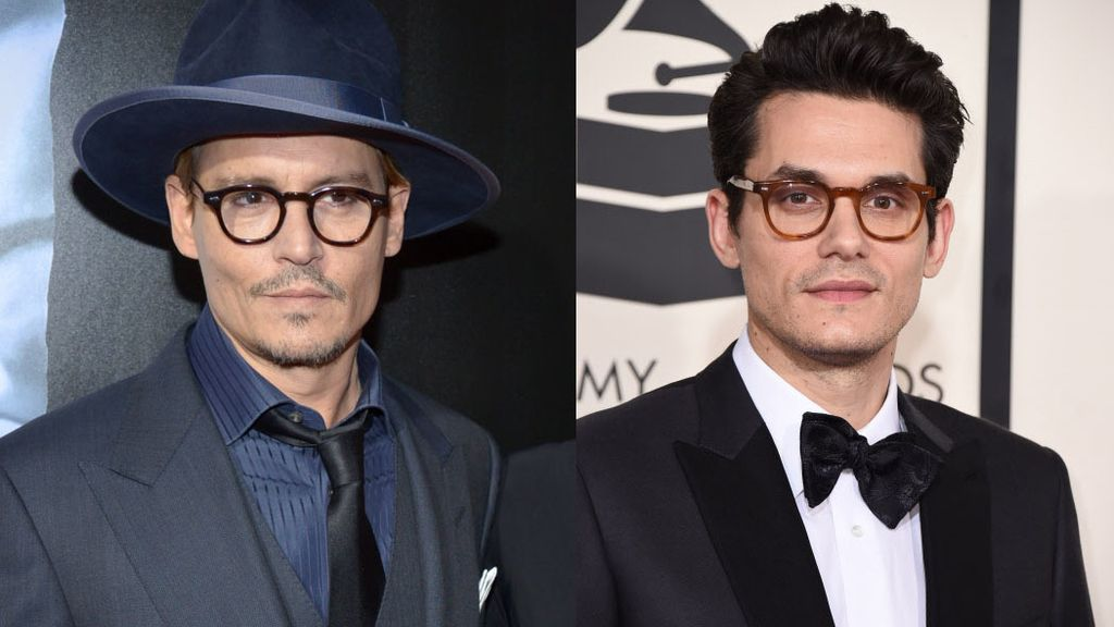 Famosos separados al nacer: Johnny Depp y John Mayer