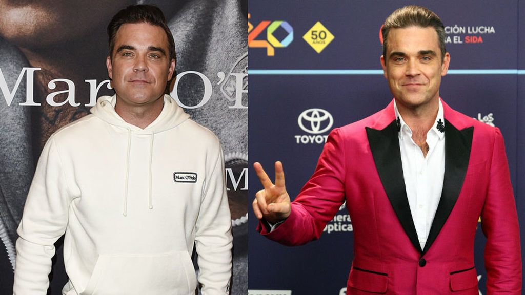 Robbie Williams, irreconocible en sus últimas apariciones públicas