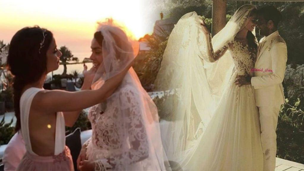Todos de blanco y por sorpresa:  Dani Alves y Joana Sanz, boda secreta en Formentera