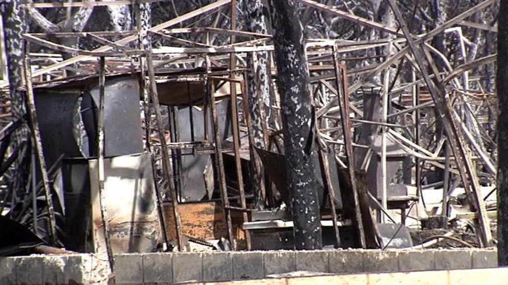 El camping asolado por el incendio de Huelva estima las pérdidas entre seis y diez millones de euros