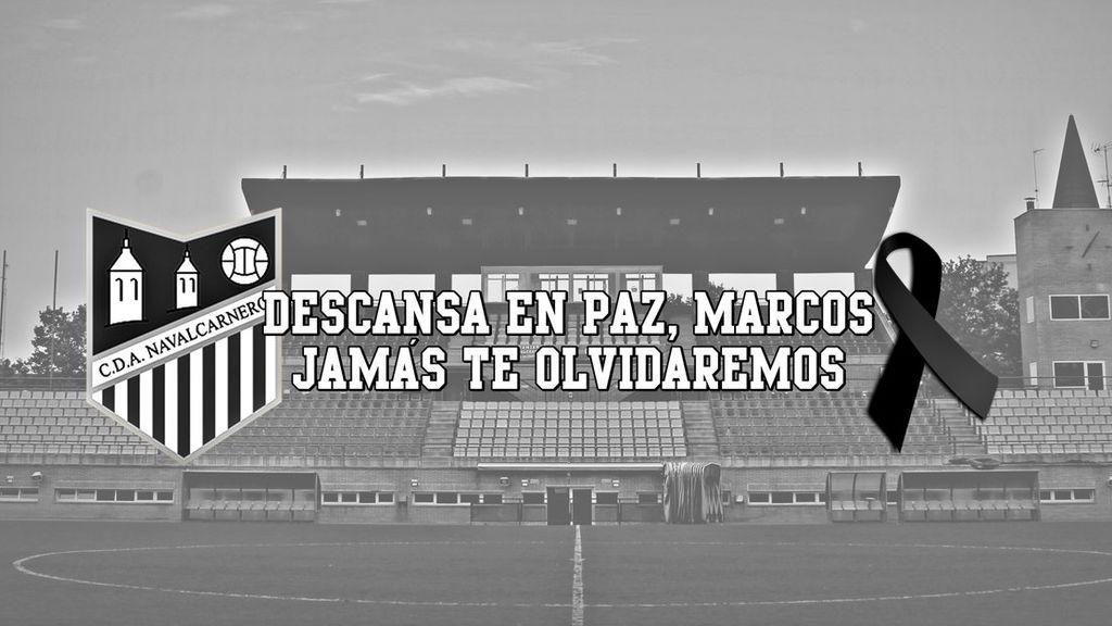 El mundo del deporte se une en el dolor por el fallecimiento del joven futbolista del Navalcarnero en una carrera popular en Castellón