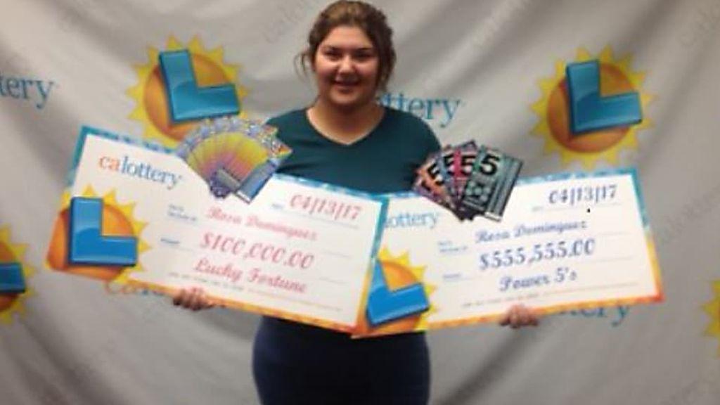 Una joven californiana gana la lotería dos veces en menos de una semana