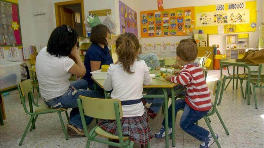 Niños, menores, colegio
