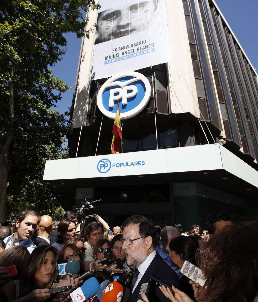 Rajoy reivindica a Miguel Ángel Blanco y el espíritu de Ermua por su papel en la derrota de ETA