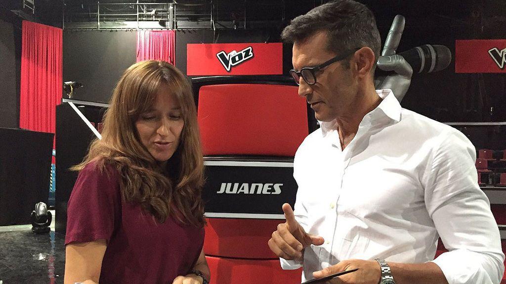 Jesús Vázquez preparado para dar comienzo a las audiciones a ciegas de 'La Voz'