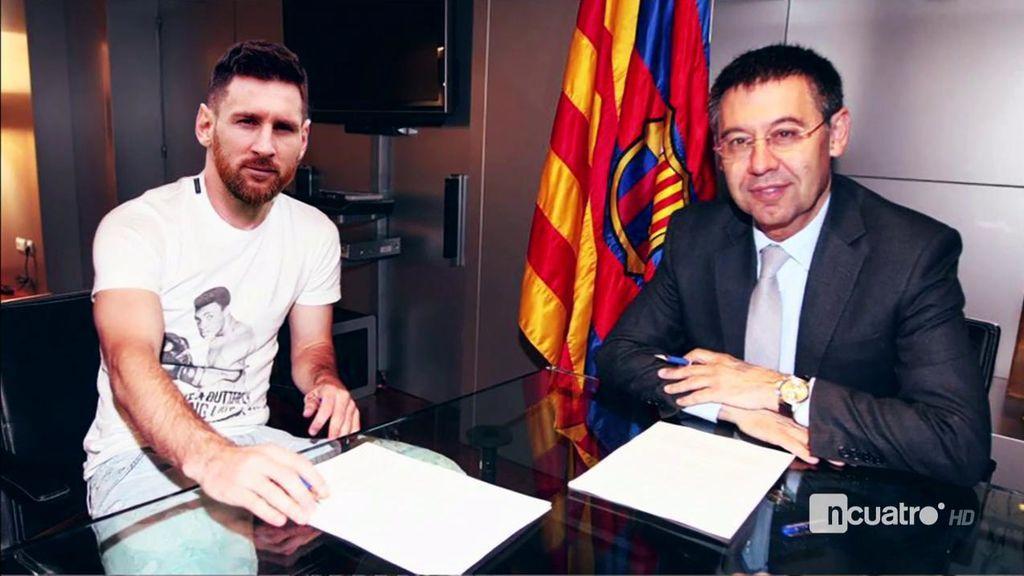 Leo Messi todavía no ha firmado su renovación con el Barça, pero lo hará en cuestión de horas