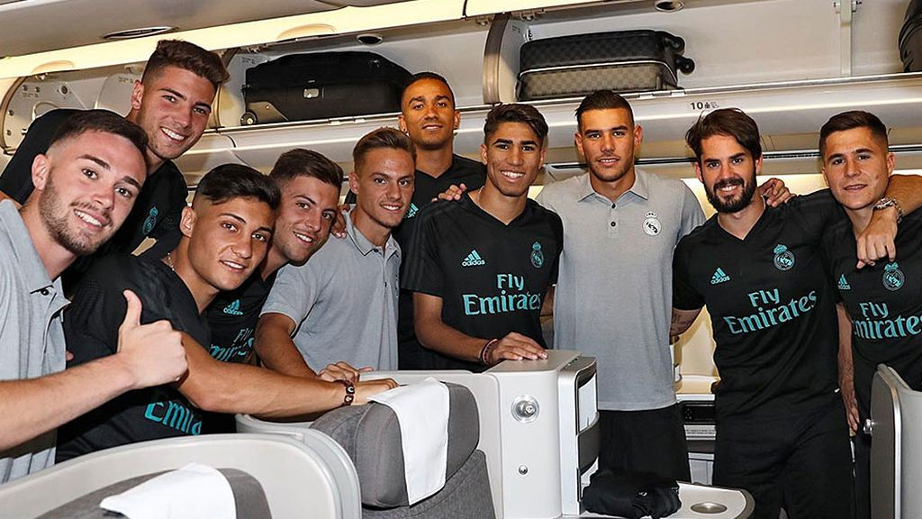 El Real Madrid se lleva a Los Ángeles a 26 futbolistas para la International Champions Cup