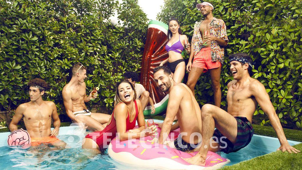 Pool Party Outdoor con Alyson Eckmann y sus amigos: esto es una fiesta