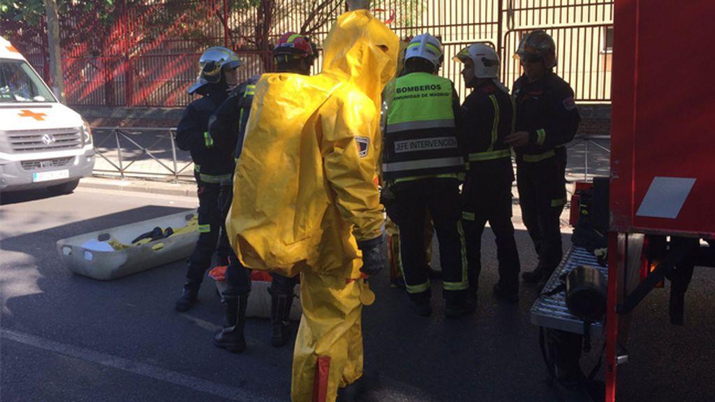 Intoxicadas 17 personas por un escape de cloro en una piscina en Móstoles (Madrid)