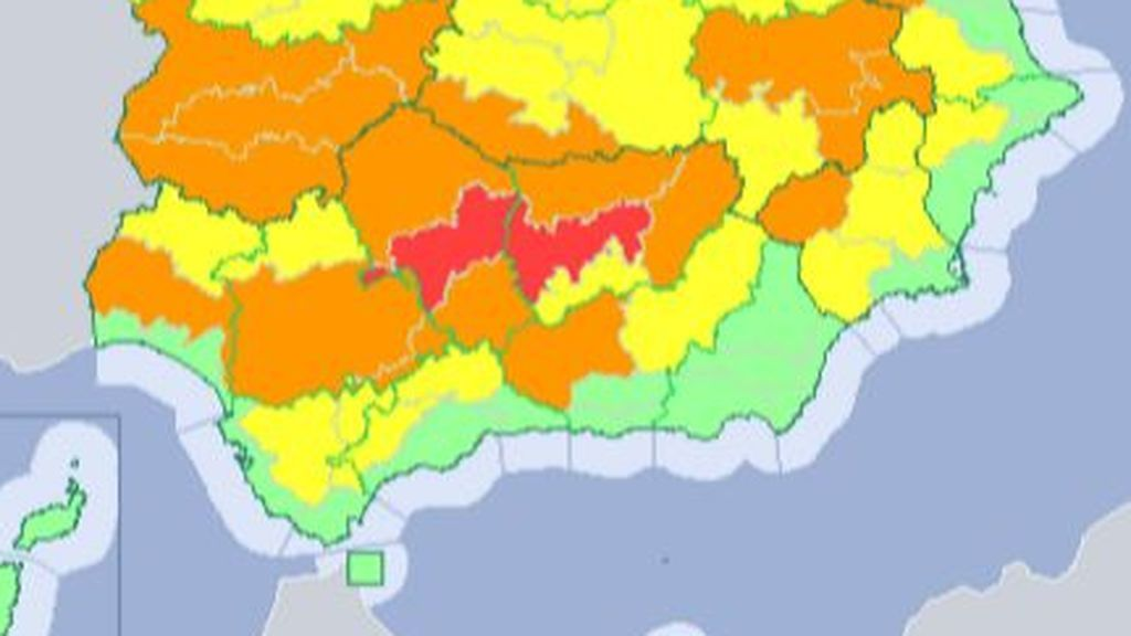 Avisos rojos hasta el jueves: alcanzaremos los 46ºC