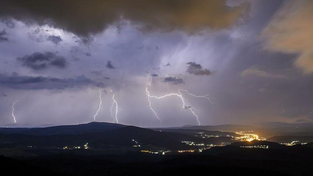 Tormenta eléctrica en Hungría