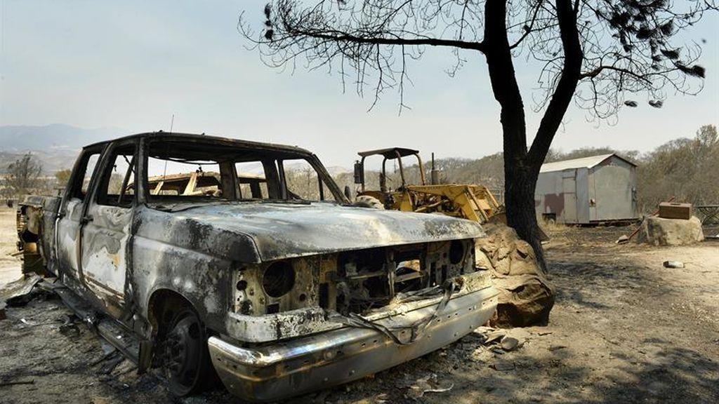 Decenas de incendios en el oeste de Estados Unidos