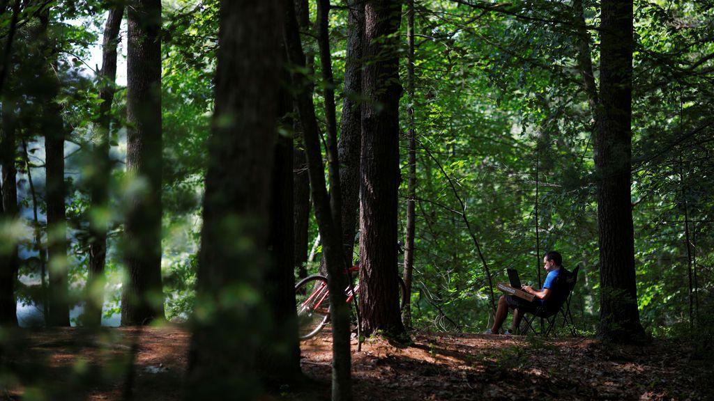 """200º cumpleaños de Henry David Thoreau, autor del libro """"Walden"""""""