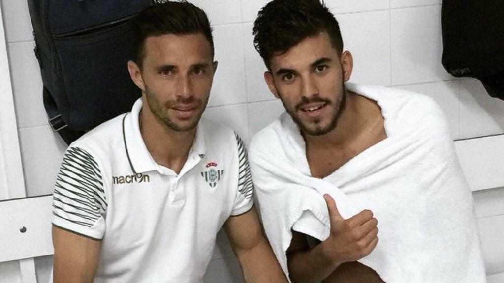 """Dani Ceballos despide a Rubén Castro en redes y la lía: """"Vete al Madrid ya pesetero"""""""