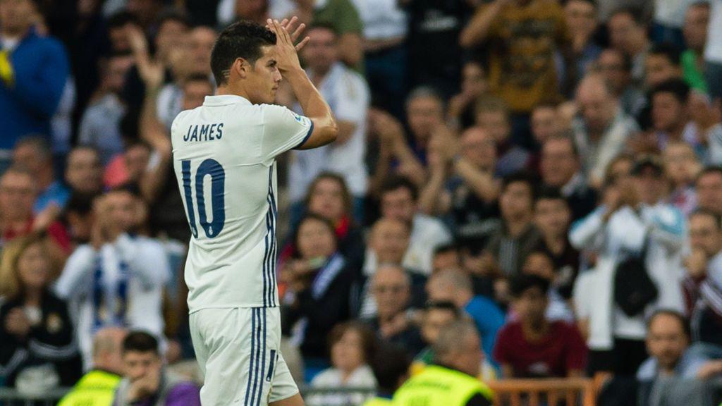 James le da las gracias a Jorge Mendes por su salida Del Real Madrid