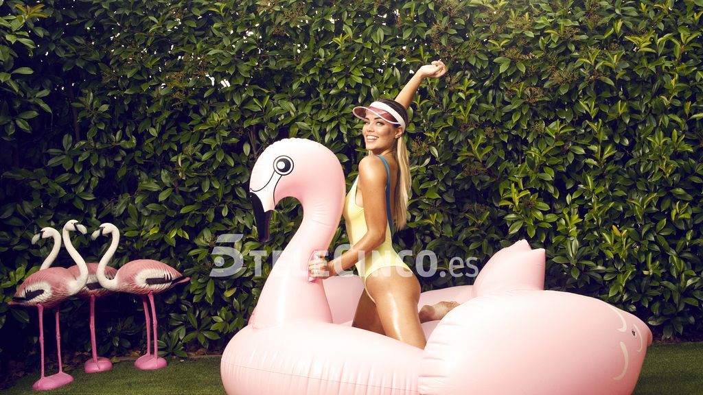Así fue la pool party con 'crazy Aly' y sus amigos: las fotos más locas