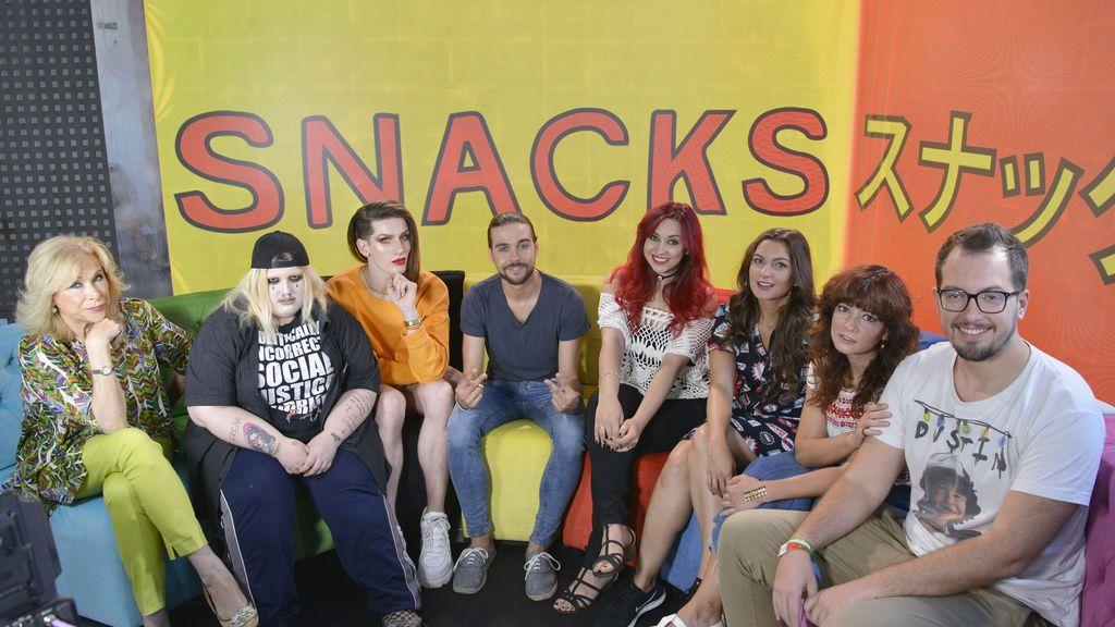 Los influencers desembarcan este sábado en Cuatro con el estreno de 'Snacks de la tele'