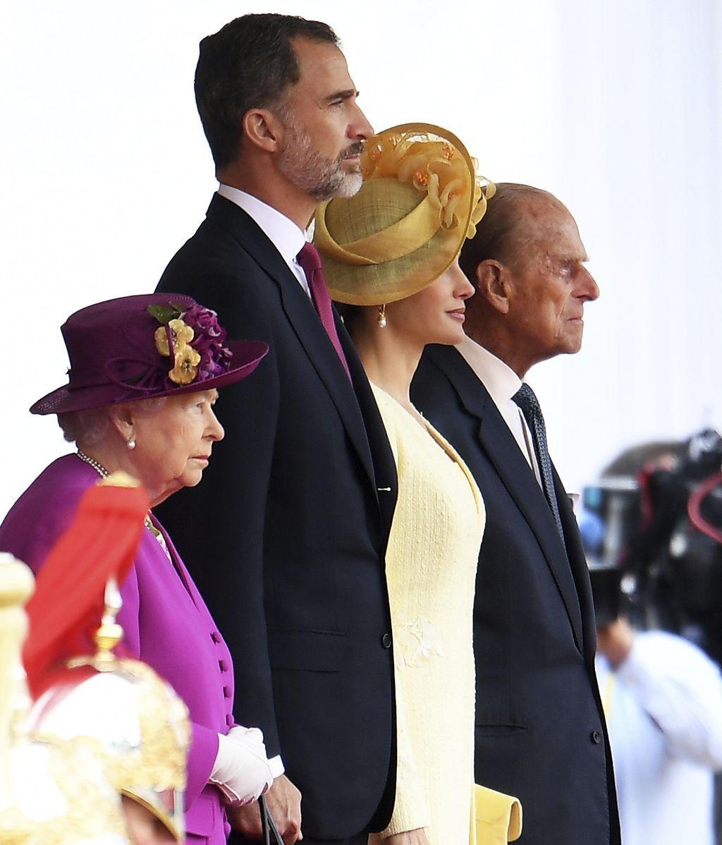 Los Reyes de España visitan el Reino Unido