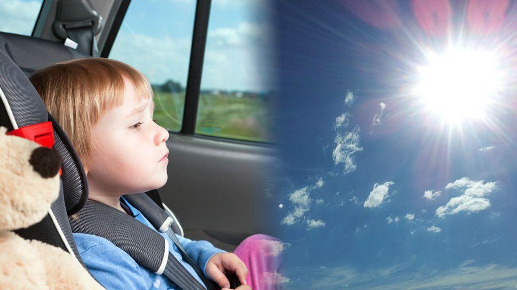 Como evitar que un niño muera dentro de un coche por golpe de calor