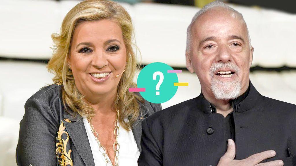 Test: ¿Quién lo ha dicho, Carmen Borrego o Paulo Coelho?