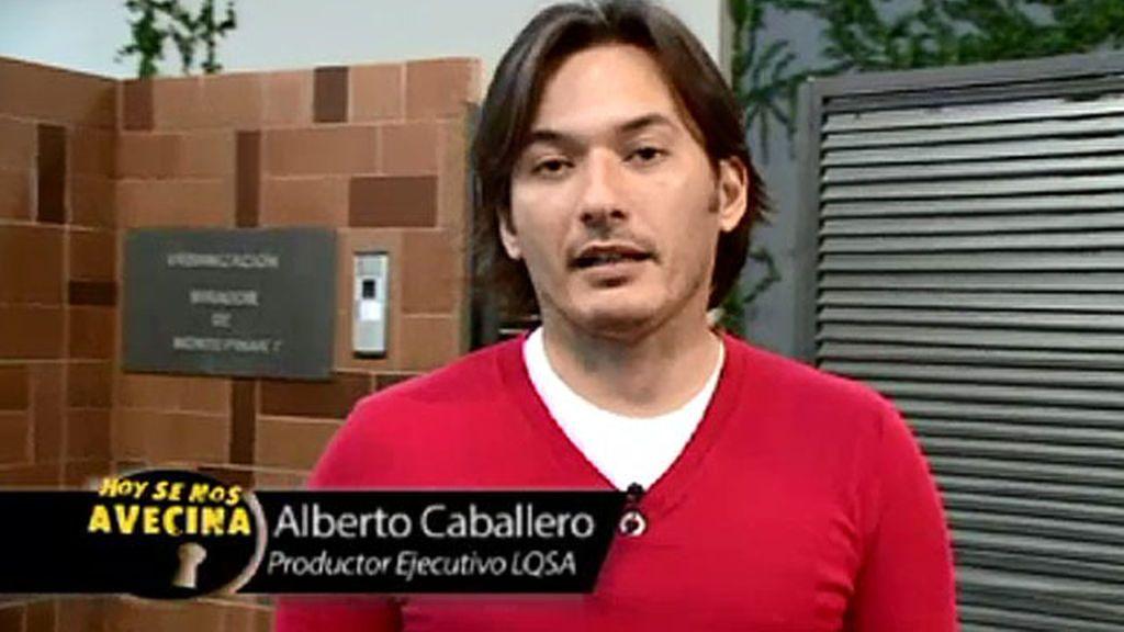 """Alberto Caballero, creador de LQSA: """"Luis Merlo está bien y le darán el alta en breve"""""""