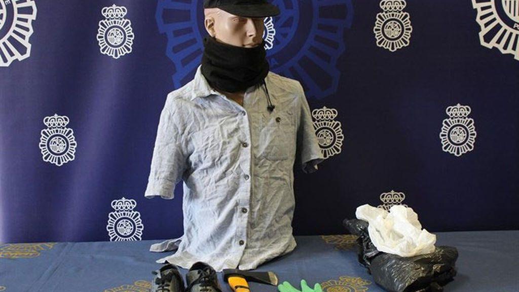 Detenido por intentar atracar un banco con un hacha