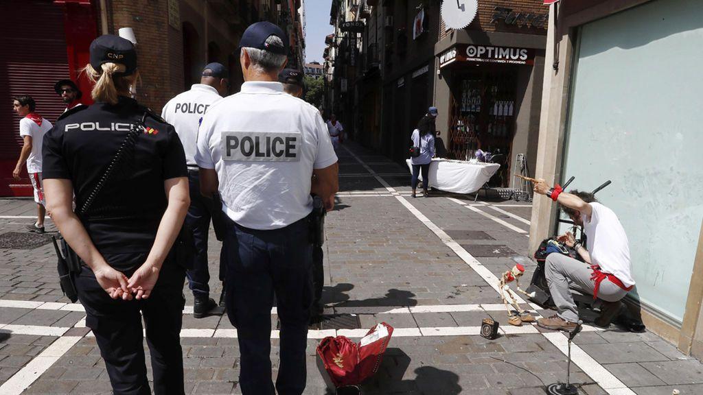 Prisión provisional para un detenido por una agresión sexual en un bar de Pamplona