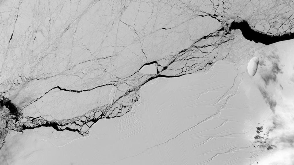 Se desprende de la Antártida uno de los mayores icebergs del mundo
