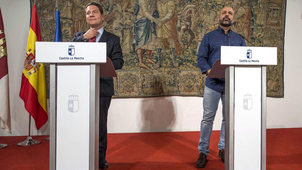 Page ofrece a Podemos entrar en el Gobierno tras acordar las cuentas de Castilla-La Mancha