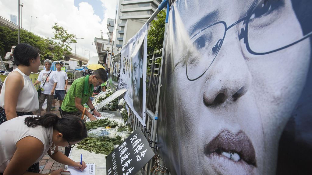 China despide a Liu Xiaobo