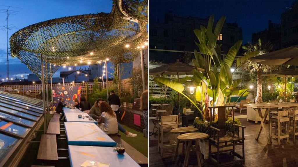 ¿Sobrepasado por la ola de calor? Diez terrazas 'cool' donde sobrellevarla al caer el sol