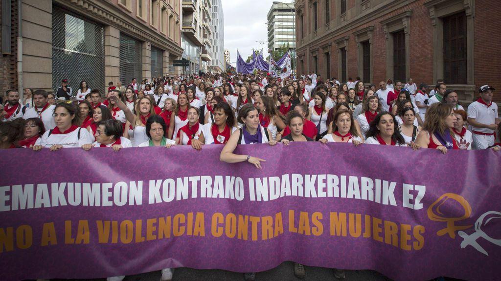 Ocho meses de prisión para dos acusados de tocamientos a mujeres en Pamplona