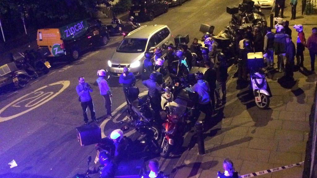 Ataques con ácido en Londres