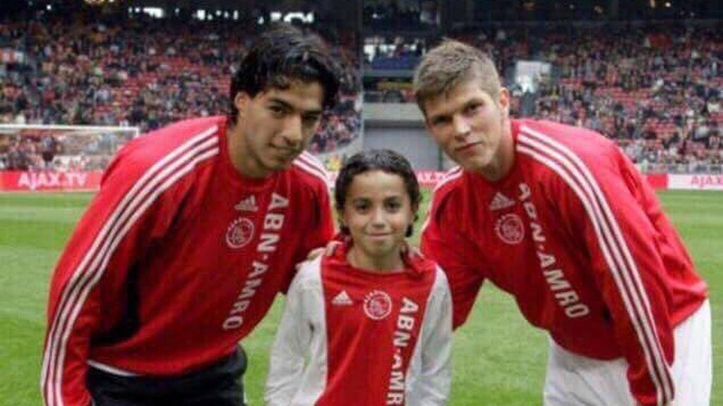 Luis Suárez se vuelca con Appie, el jugador del Ajax que sufre daños cerebrales irreversibles