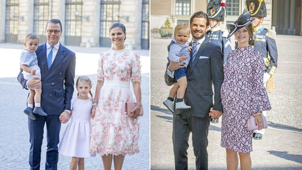 Sofia Hellwist embarazada, Magdalena y familia... Así ha sido la fiesta de 40 de Victoria de Suecia