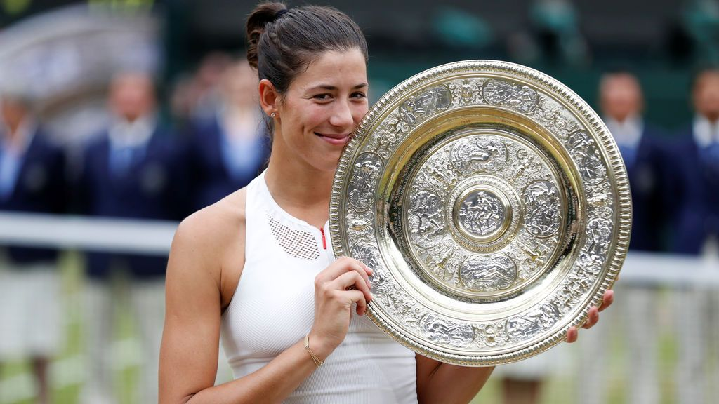 Muguruza hace historia al conquistar su primer Wimbledon tras ganar a Venus Williams