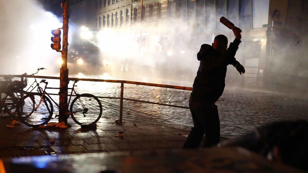 Unidades de la Policía de Hamburgo se negaron a participar en la represión de las manifestaciones del G20