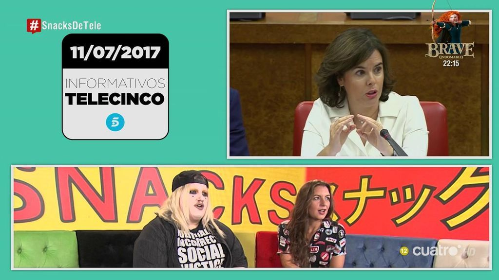"""Soy una pringada se moja en política: """"Qué mal se ha puesto el corrector Soraya Sáenz de Santamaría"""""""