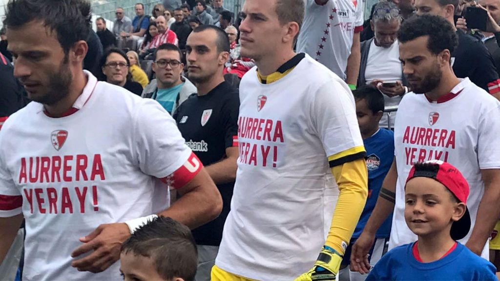 El precioso gesto del FC Sion con Yeray Álvarez
