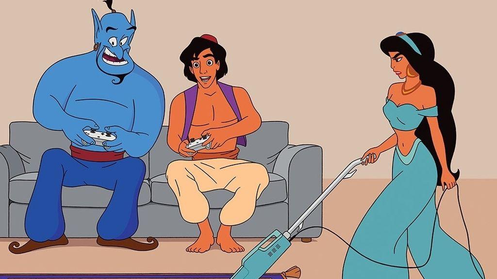Así serían los personajes de Disney si viviesen en el mundo actual