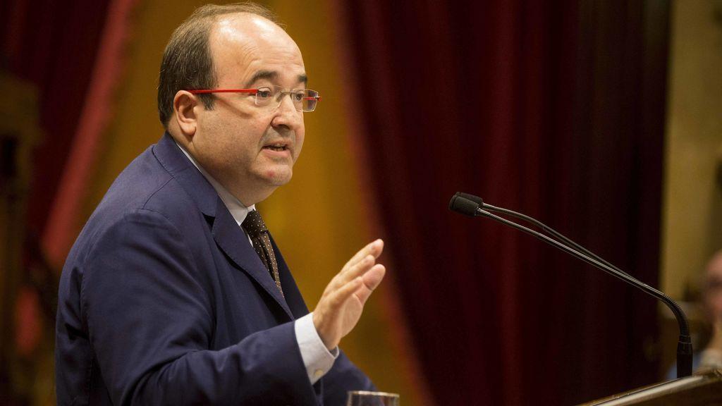 Miquel Iceta, proclamado candidato del PSC a la Generalitat