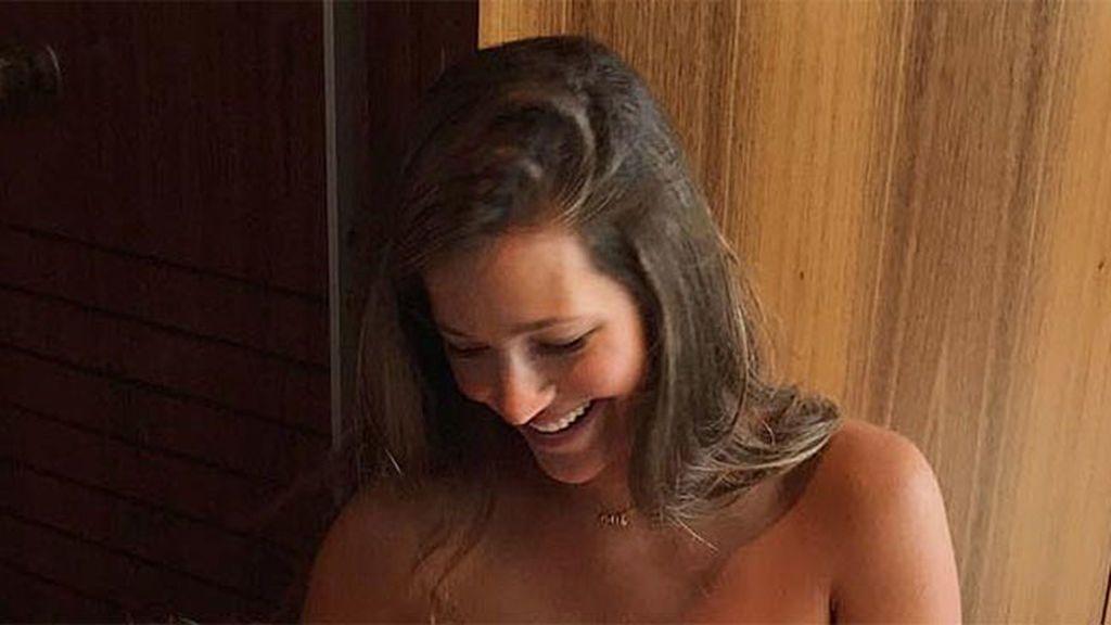 Malena Costa nos muestra la carita del pequeño Mario Suárez Junior