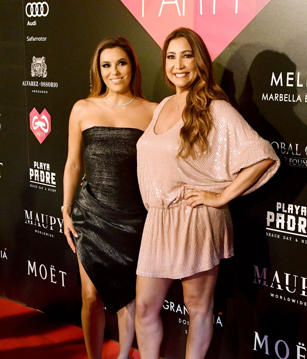 Eva Longoria, solidaria y espectacular, en la Gala Global Gift en Marbella