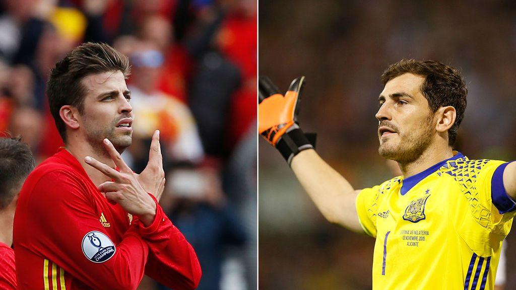 """Piqué, a Iker Casillas: """"¡Un alivio no verte la cara!"""""""