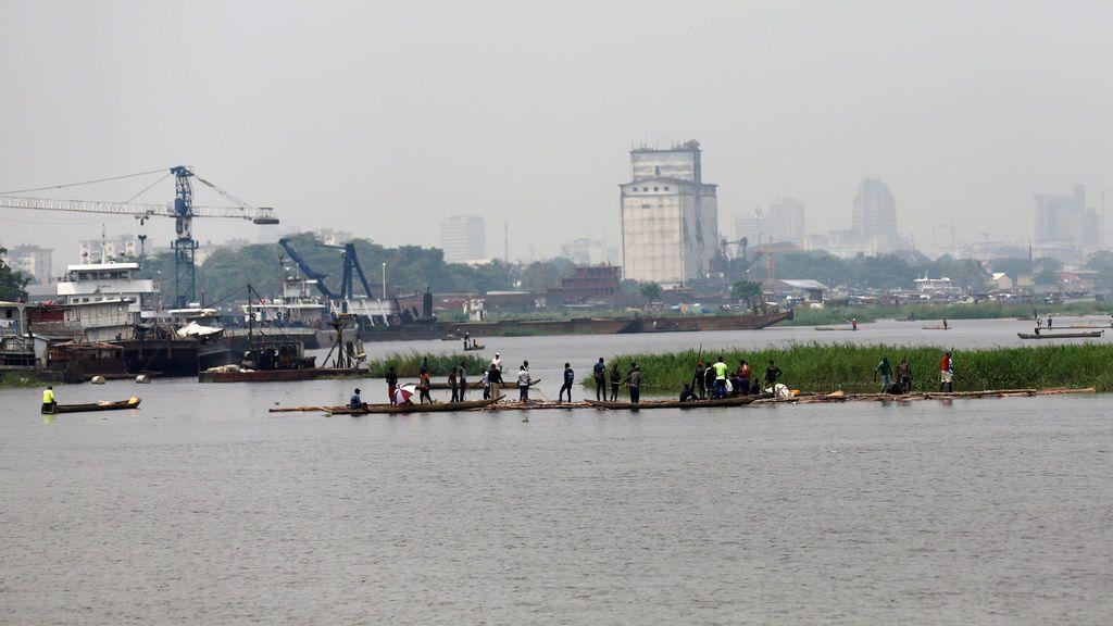 27 muertos y medio centenar de desaparecidos en un naufragio en el Congo