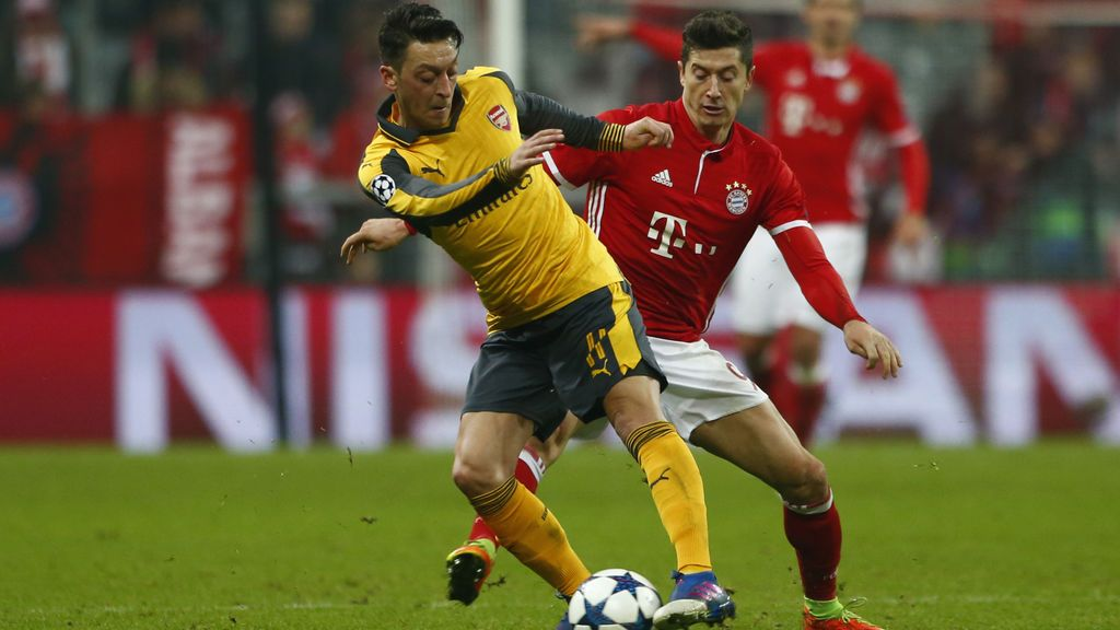 Bayern de Múnich – Arsenal: el 'típico' partido de Champions League