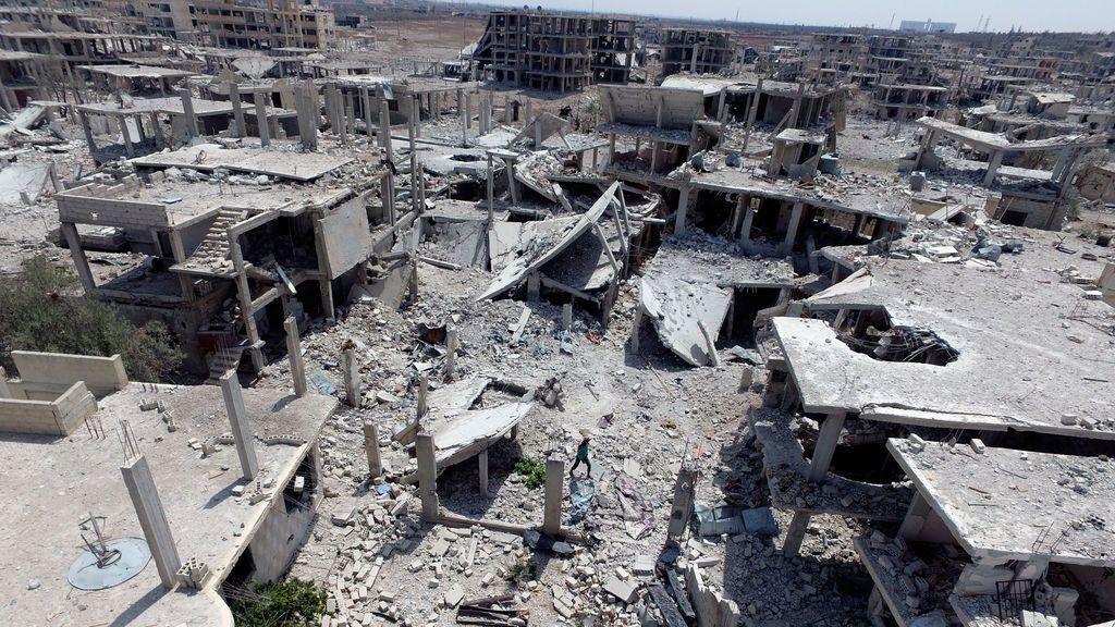 La guerra de Siria: más de 331.000 muertos de los que  18.243 son menores de edad