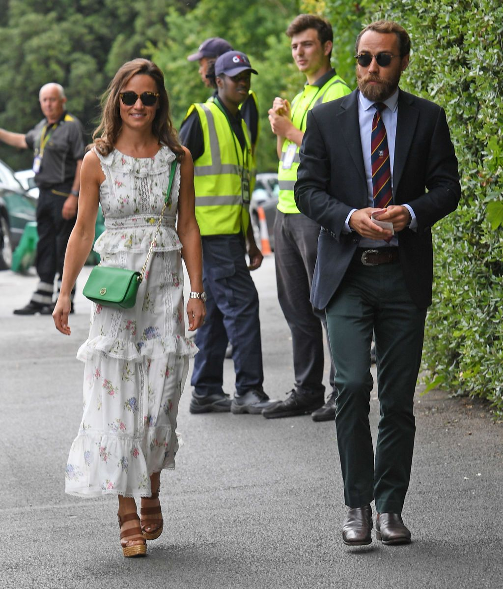 Pippa y James Middleton