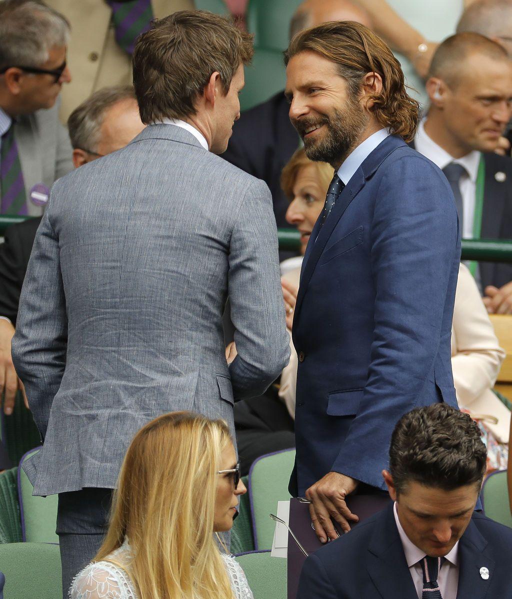 Eddie Redmayne y Bradley Cooper