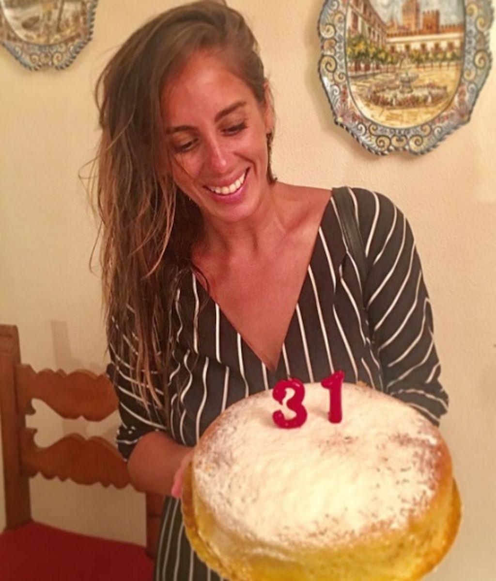 El cumpleaños más sensiblero de Anabel Pantoja